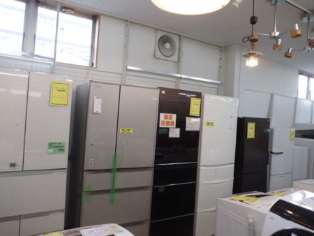 リサイクルショップ 冷蔵庫 6ドア