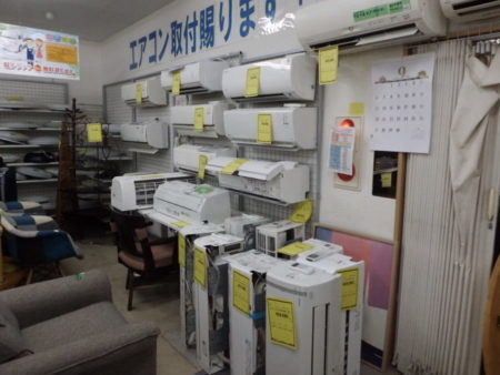 リサイクル エアコン 石津